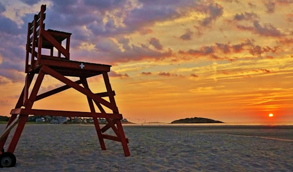 Lifeguard Chair Art | capeanngiclee