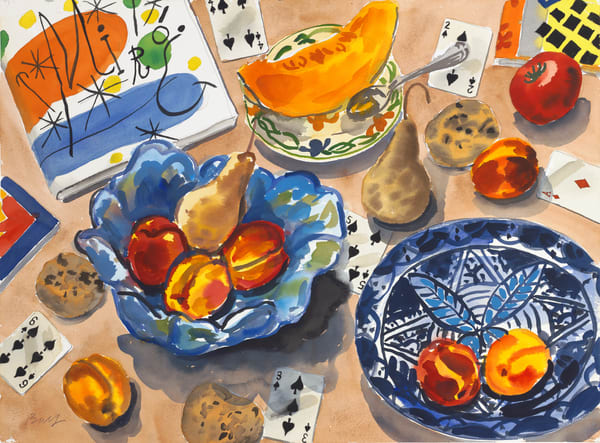 Straight Flush And Fruit Art | capeanngiclee