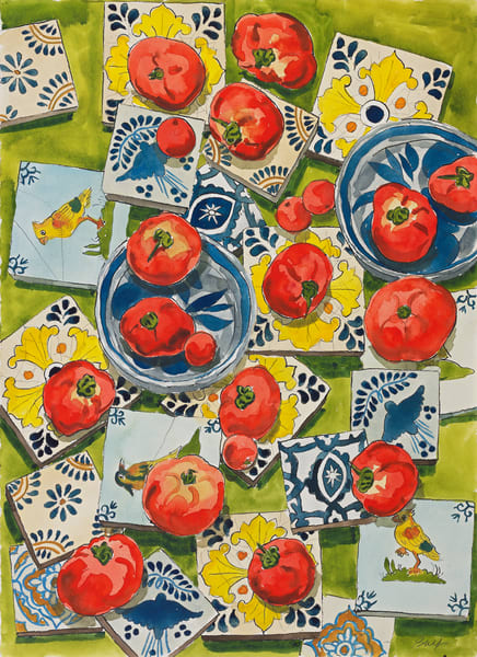 Tomatoes Art | capeanngiclee