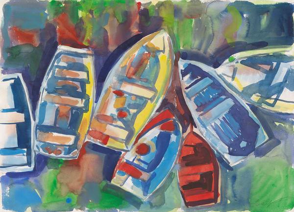 Skiffs Art | capeanngiclee