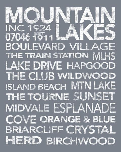 Mountain Lakes Gray