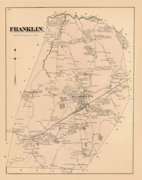 Franklin Town 1876