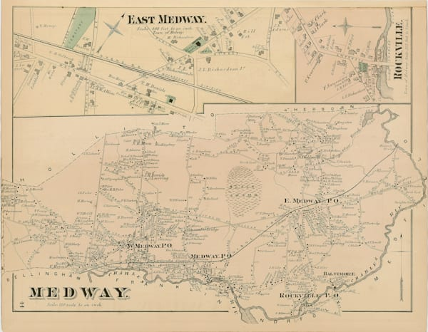 Medway Town East 1876