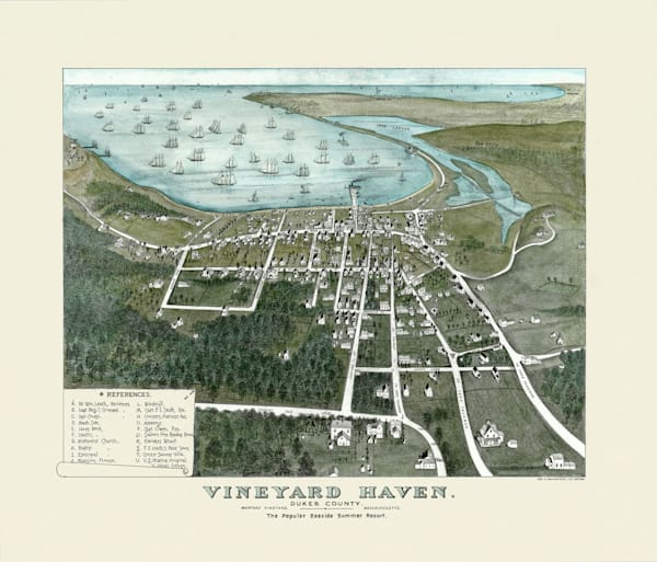 Vineyard Haven 1886 Art | Frame Center