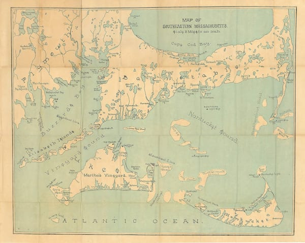 Cape Cod, Nantucket + Martha's Vineyard Circa 1880
