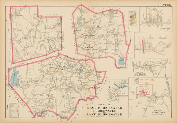 Bridgewater-West-East Towns 1903