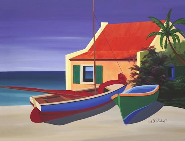 Paul Bishop Art - Beach House