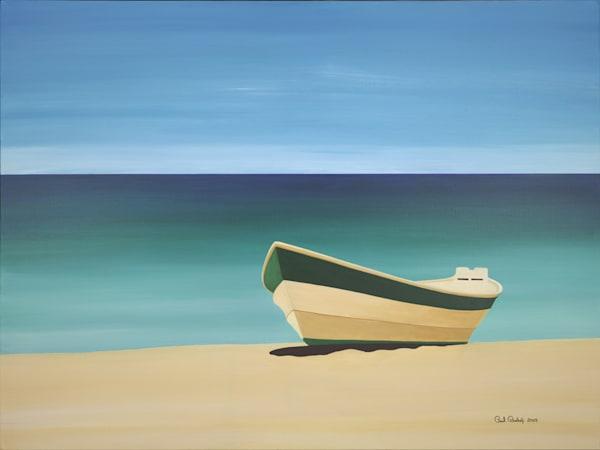 Paul Bishop Art - Beached Dory