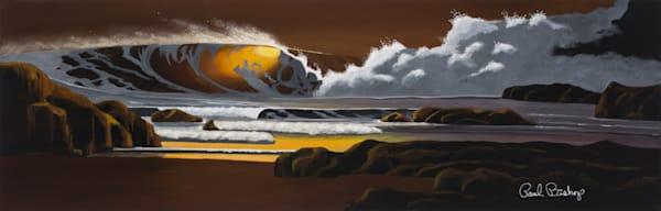 Paul Bishop Art - Golden Beach