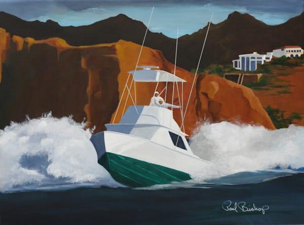 Paul Bishop Art - Fishing Time