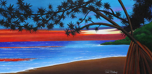 Paul Bishop Art - Pandanas Cove