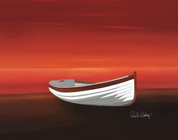 Paul Bishop Art - Red at Night