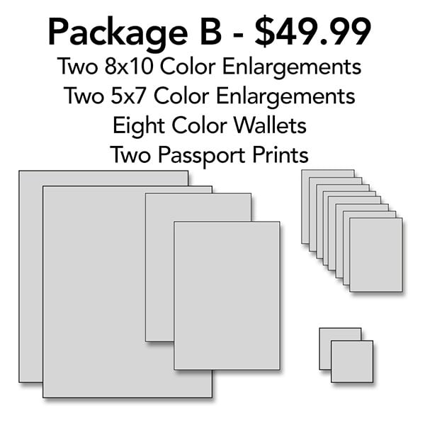 Portrait Package B | capeanngiclee