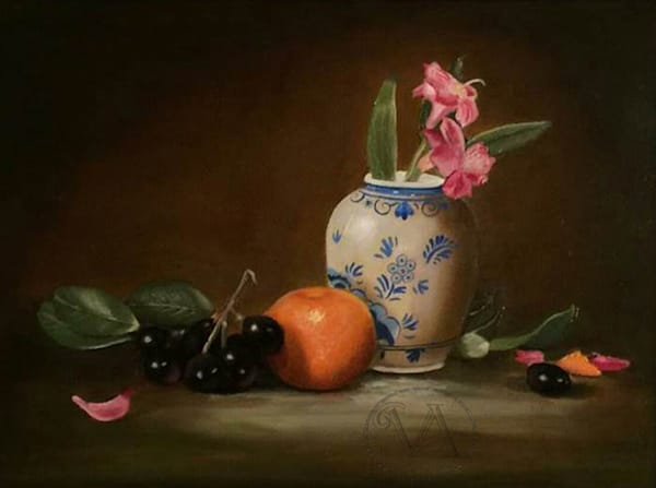 Fruits and flowers still life nf elnto5