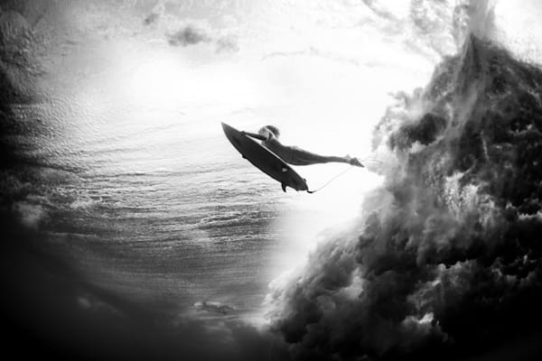Surf Photography | Duck Dive by Doug Falter