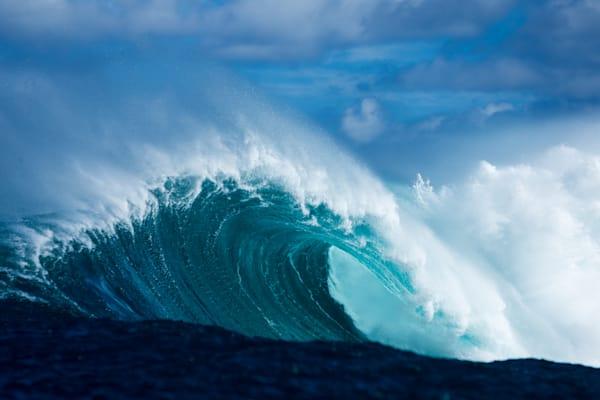 Surf Photography | Indigo Crush by Doug Falter