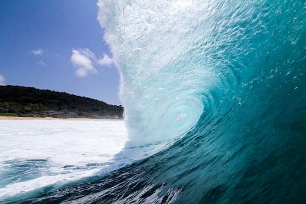 Surf Photography | Icy Ridge by Doug Falter