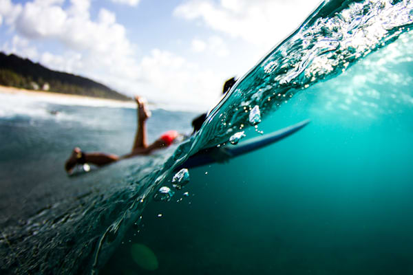 Surf Photography | Into the Deep by Doug Falter