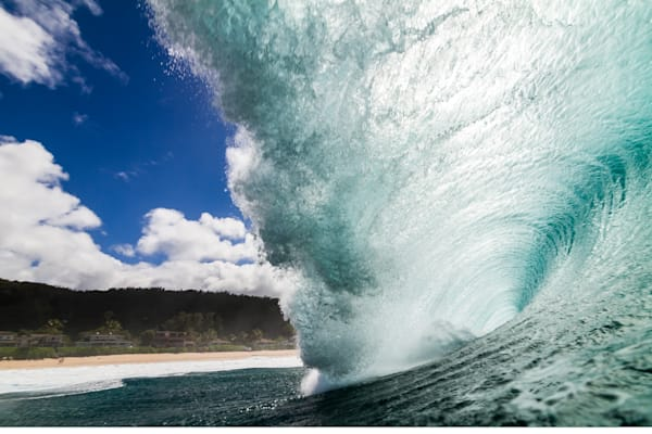 Surf Photography | Over the Falls by Doug Falter