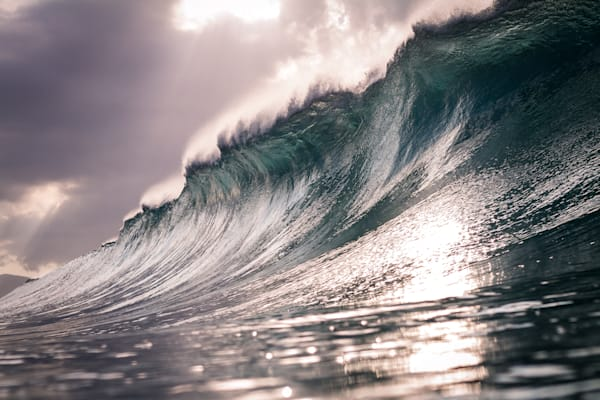 Surf Photography | Sparkling Surge by Doug Falter