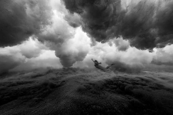 Surf Photography | Under the Storm by Doug Falter