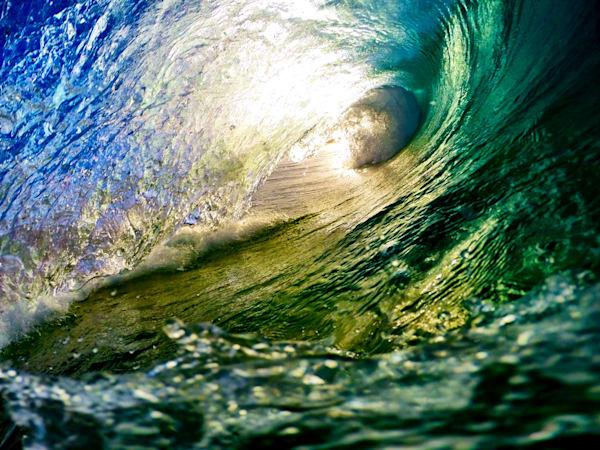 Surf Photography | At the End of the Tunnel by Matt Kwock