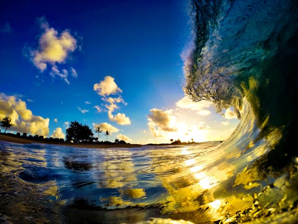 Surf Photography | Here Comes the Sun by Matt Kwock