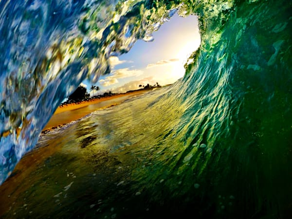 Surf Photography | Morning Ride by Matt Kwock