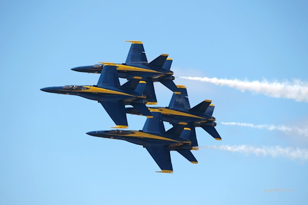 Hawaii Photography | Blue Angels 6 by Angie Hamasaki