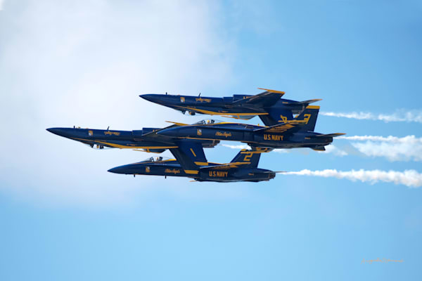 Hawaii Photography  Blue Angels 7 by Angie Hamasaki