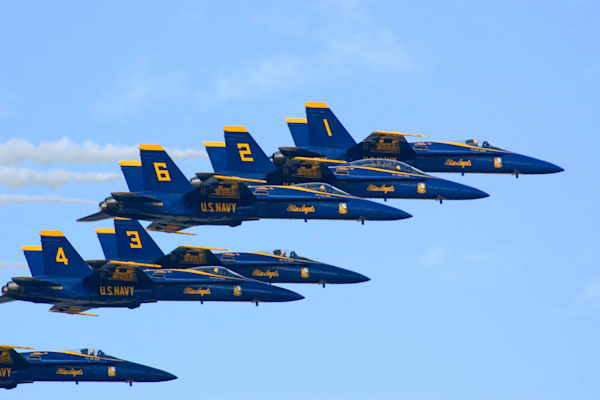 Hawaii Photography | Blue Angels 3 by Angie Hamasaki