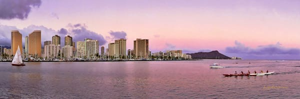 Hawaii Photography | Pink Sunset by Angie Hamasaki
