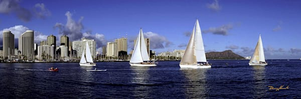 Hawaii Photography | Sailboats by Angie Hamasaki