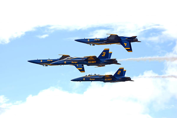 Hawaii Photography | Blue Angels 1 by Angie Hamasaki