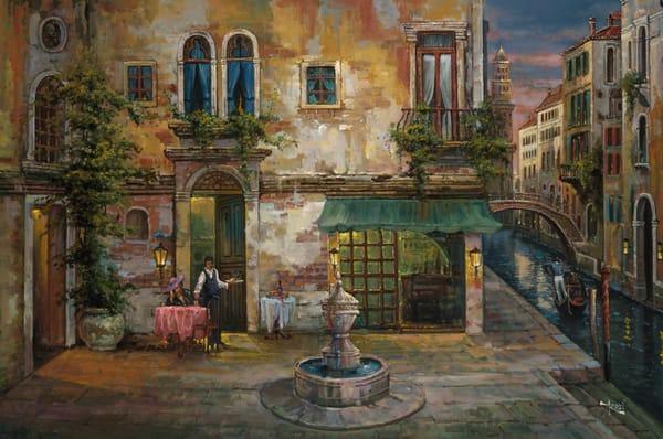 Fine Art | Six O'Clock in Venice by Arozi