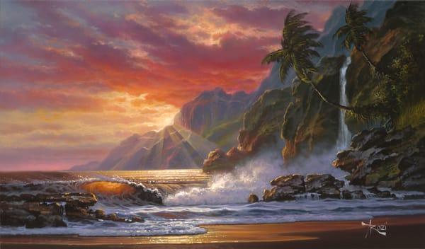 Fine Art | Oahu's Sunset by Arozi