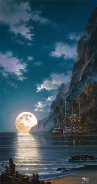Fine Art | Ocean Romance by Arozi