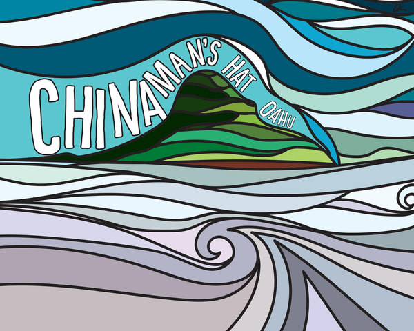 Lifestyle Prints | Chinaman's Hat