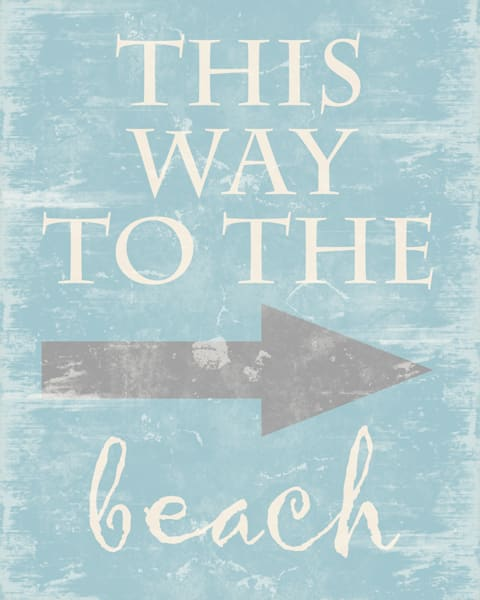 Lifestyle Prints | This Way to the Beach