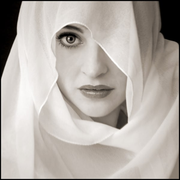 White Shawl Photography Art by Tom McFarlane Photography