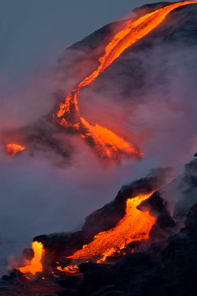 Hawaii Photography | Lava Flows by Leighton Lum