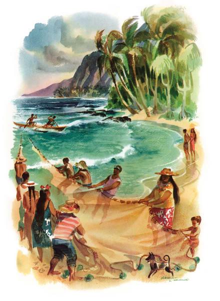 Polynesian art | Hawaii by Macouillard