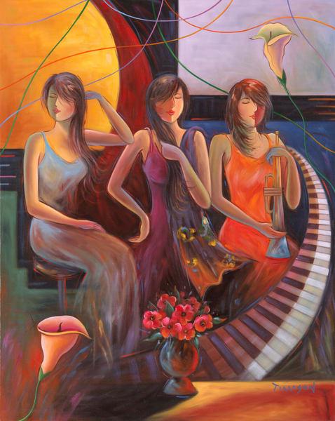 Fine Art | Calla in Concert by Tiamson