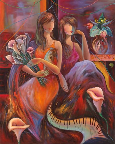 Fine Art | Calla in Symphony by Tiamson