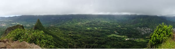 Hawaii Photography | Koolaus from Olomana by Jason Dennison