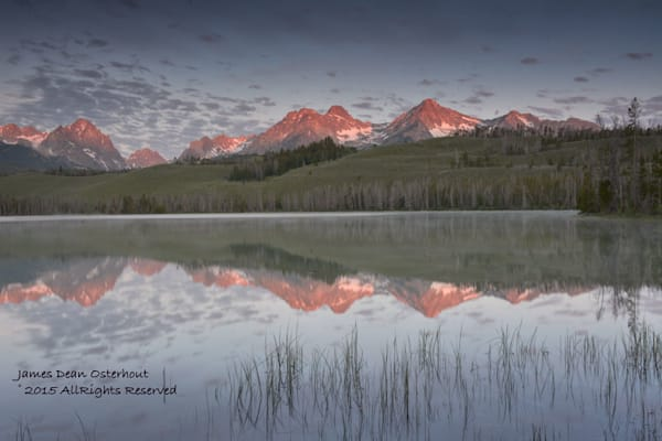 Sawtooth Sunrise Kurgbh Photography Art | Swan Valley Photo