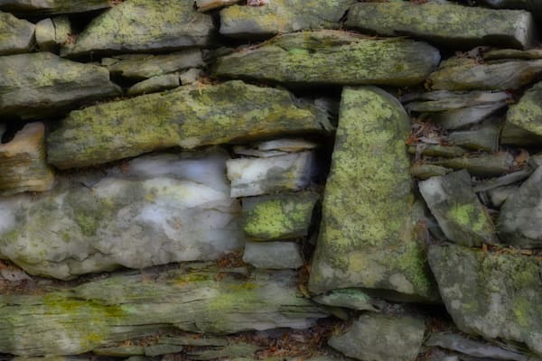 Stone Wall Photographic Art - Perfect Fit