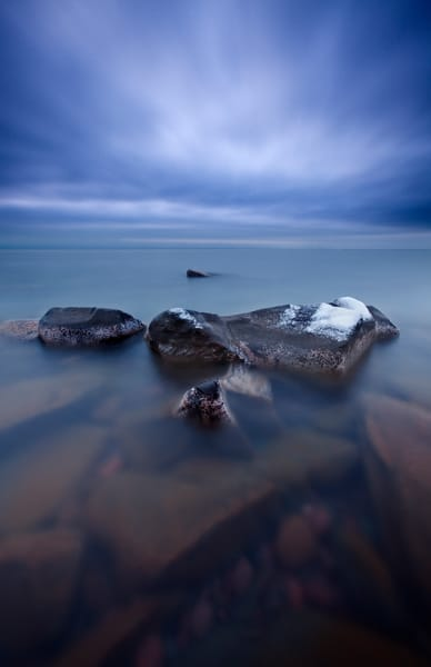 Infinity along Lake Superior