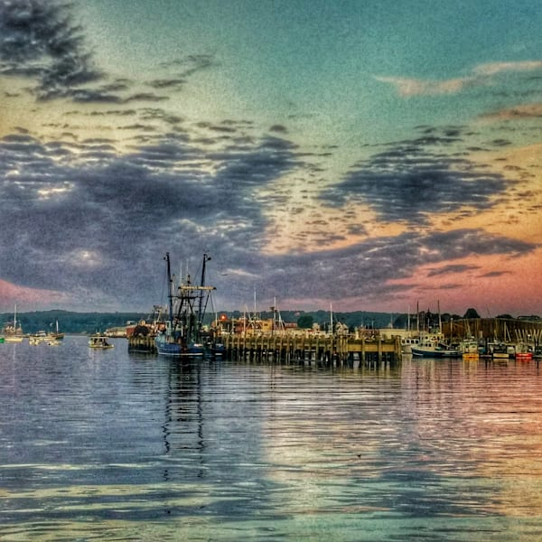 State Fish Pier Art | capeanngiclee