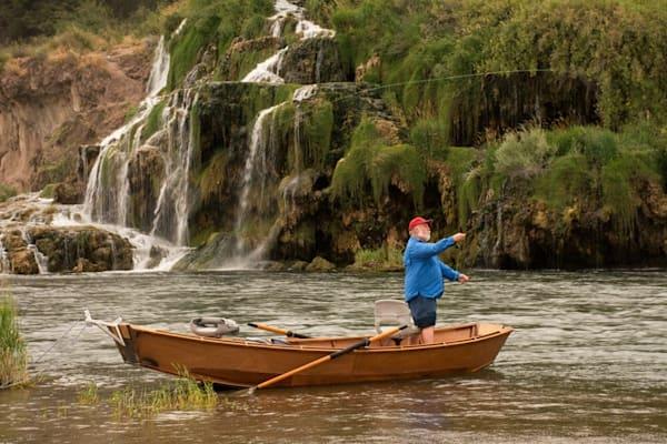Fall creek fishing